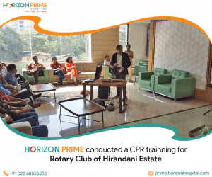 Dr. Hrushikesh Vaidya Giving CPR Training